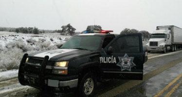 Cierran carretera entre Sonora y Chihuahua por nevadas