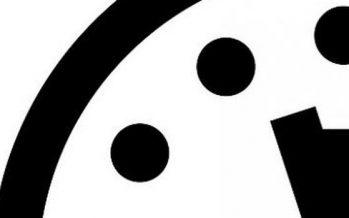 El Reloj del Juicio final, parado a tres minutos del apocalipsis