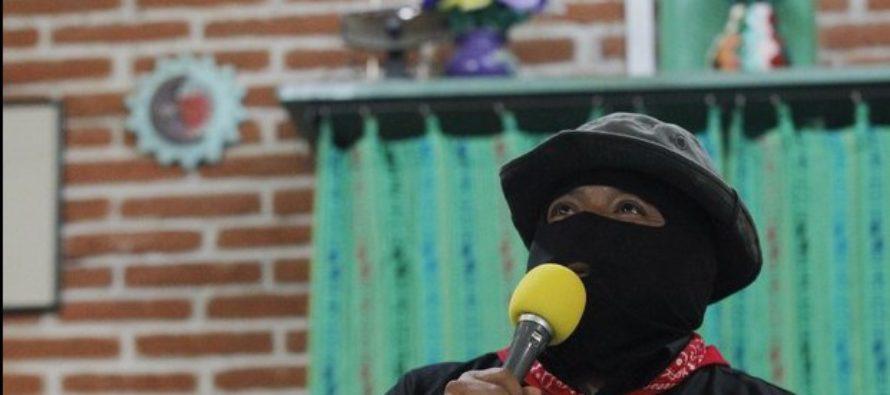 Celebran 22 años del levantamiento zapatista