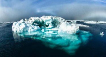 Los icebergs ayudan afrenar el calentamiento global