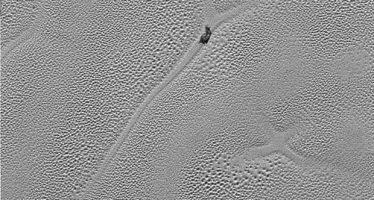 Una intrigante «X» en la superficie de Plutón