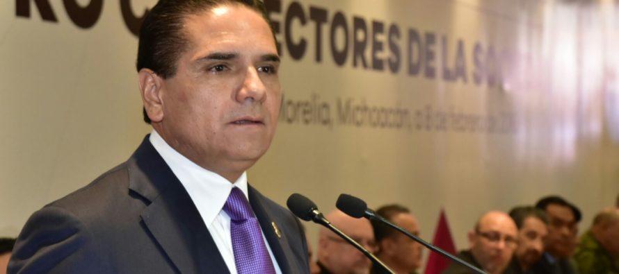 Mensaje del gobernador Silvano Aureoles al Manifiesto del pueblo de Michoacán por visita del Papa Francisco