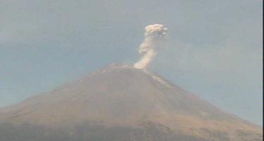 Sin cambios alerta en monitoreo del Popocatépetl: Amarillo Fase 2