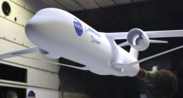 Nuevo avión ecológico de la NASA