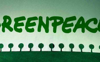 Protesta Greenpeace ante FONATUR por destrucción del manglar de Tajamar en Cancún