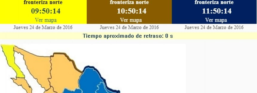 A partir del 3 de abril, horario de verano en México: se adelantan una hora los relojes