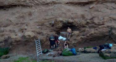 Hallan más restos del perezoso terrestre gigante en Mar del Plata