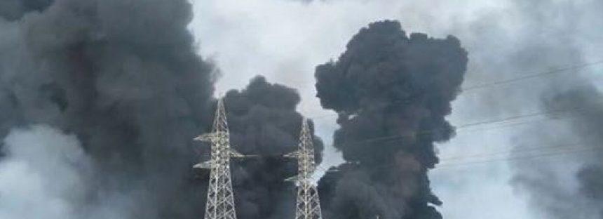 Reporte de explosión en complejo Pajaritos en Coatzacoalcos, Veracruz
