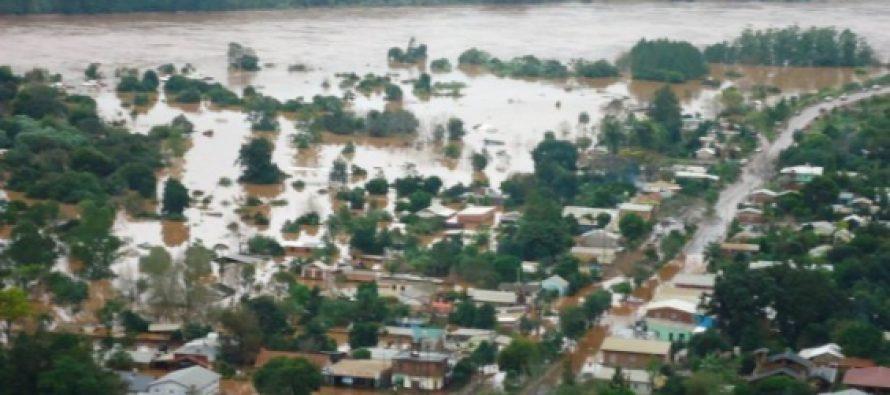 5.200 personas continúan afectadas por las inundaciones en Chaco