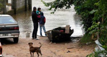 40 mil los afectados por las inundaciones en el litoral en Argentina