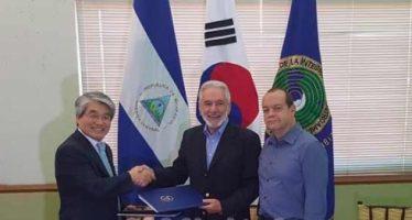 Nicaragua y Corea rubrican convenio para desarrollar energía renovable