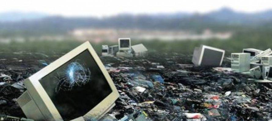 'Pódium' mundial para México en basura electrónica