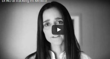 No al fracking en México. El daño al medio ambiente es irreversible *