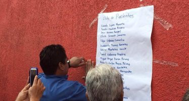 Listas de pacientes atendidos en la clínica 36 del IMSS en Coatzacoalcos por explosión en complejo Pajaritos