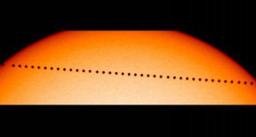 El próximo lunes se podrá ver a Mercurio pasar por delante del Sol