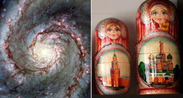 Las muñecas rusas ayudan a los astrónomos a estudiar la materia oscura