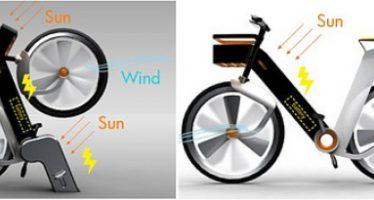Singapur trabaja en la fabricación de una bicicleta eólica y solar