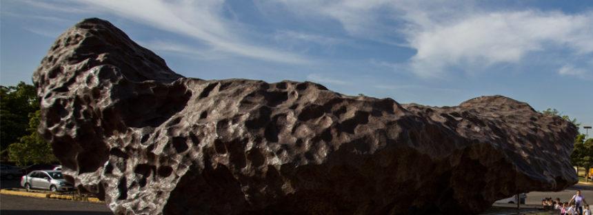 Con 20 toneladas, el meteorito de Bacubirito, Sinaloa, es el quinto más grande y largo del mundo