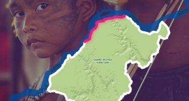 Demarcando con los Mundurukú su territorio histórico