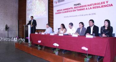 Desarrollo humano y social debe ir de la mano de la preservación de los recursos naturales
