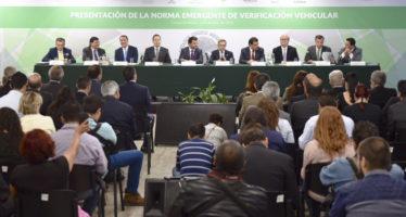 A partir del 1 de julio en vigor en Megalópolis, la Norma emergente de verificación vehicular