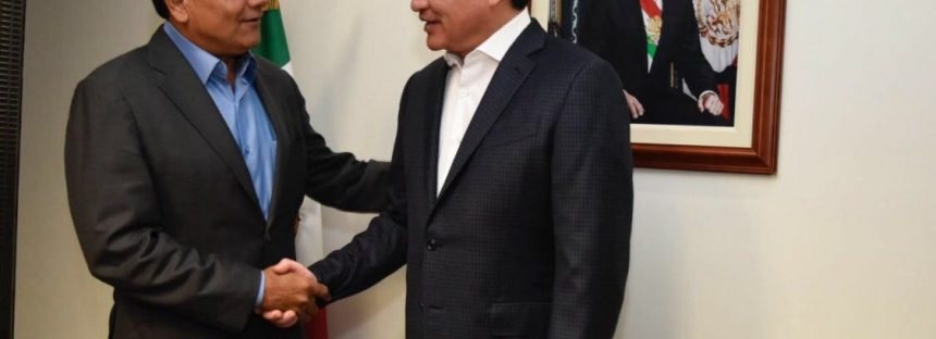 Analizan proyectos para Michoacán Silvano Aureoles y Miguel Ángel Osorio Chong