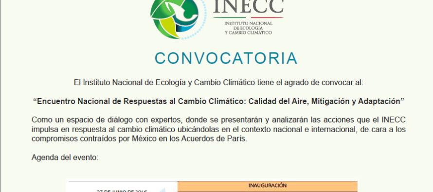 Encuentro Nacional de Respuestas al Cambio Climático: Calidad del Aire, Mitigación y Adaptación
