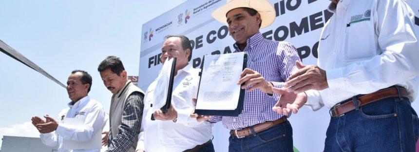 EN MICHOACÁN SE DA CERTEZA A LA COMERCIALIZACIÓN DE GRANOS: ASTECA