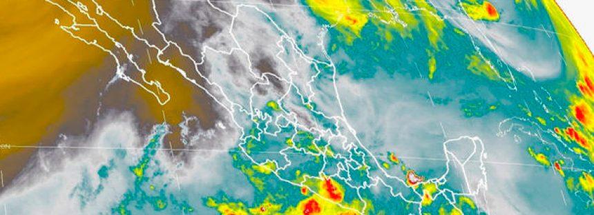 Lluvias intensas este lunes en todo México