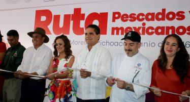 Michoacán, exitosa sede de la Ruta Pescados y Mariscos Mexicanos… ¡Qué RRRico!