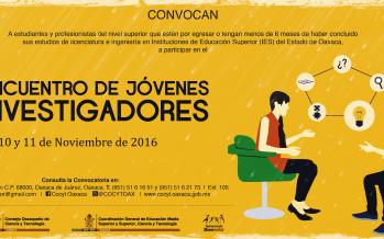 4to. Encuentro de Jóvenes Investigadores en Oaxaca