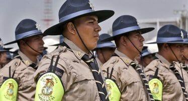 Primeros elementos graduados de la Gendarmería Ambiental de México