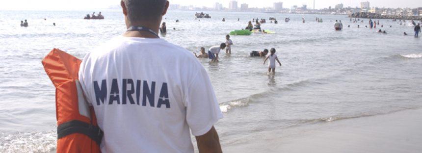 Vigilancia extrema de playas mexicanas