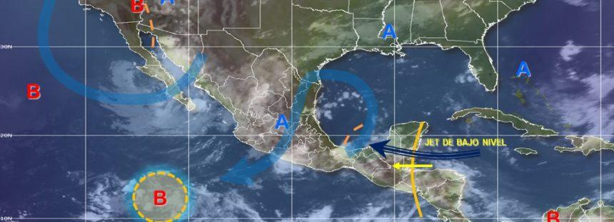 Durante las próximas horas se prevén lluvias en toda la República Mexicana