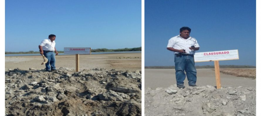 En Escuinapa, Sinaloa, clausuran obras de acuicultura porque afectan al sistema lagunar de la región