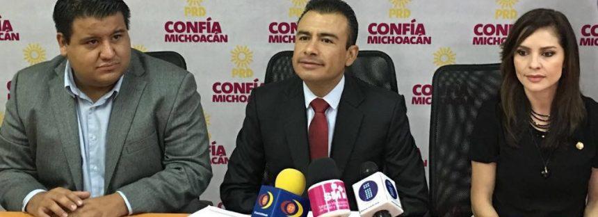Anuncia diputado Fidel Calderón la creación del Movimiento Nacional por la Esperanza en Michoacán