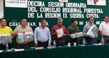 ANALIZAN ACCIONES EN FAVOR DE LOS RECURSOS FORESTALES DE LA SIERRA-COSTA