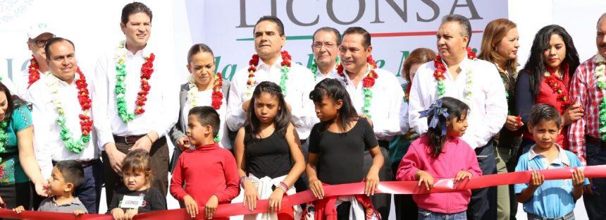 Inauguran lechería 400 de Liconsa en Michoacán