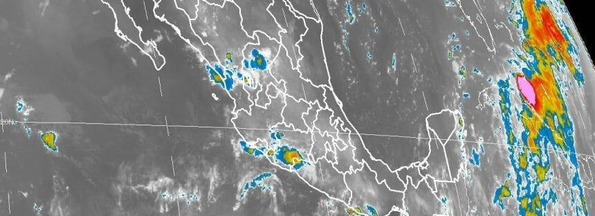 Tormentas muy fuertes en Chiapas durante las próximas horas