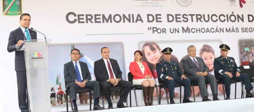 Habrá acciones para garantizar el orden en Michoacán, asegura el gobernador Silvano Aureoles