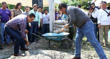 Crean obra hidráulica en Úspero, municipio de Parácuaro