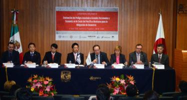 México y Japón investigarán juntos los peligros asociados a terremotos y tsunamis