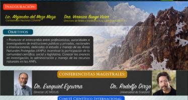 1er Congreso Internacional de Áreas Naturales Protegidas en noviembre en CDMX