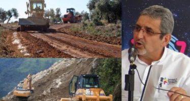 Se han aperturado mil 513 km de caminos rurales en Michoacán: Sedrua