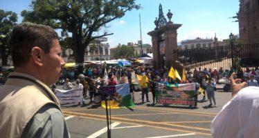 Se solidariza Sedrua con movilización campesina nacional el Campo es de Todos