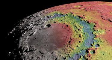 El gran cráter Oriental, la cicatriz de la guerra de asteroides que creó la Luna