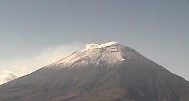 Tres explosiones registra el Popocatépetl en las últimas 24 horas