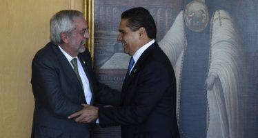El gobernador Silvano Aureoles dialoga con rector de la UNAM para elevar eficiencia terminal