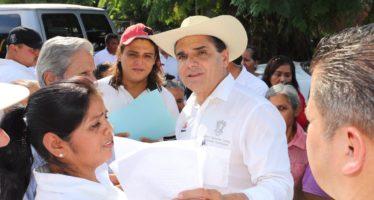 Inicia construcción del Centro de Salud en Úspero, municipio de Parácuaro