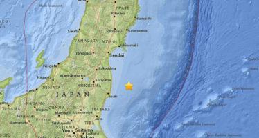 Declarada alerta de tsunami en Fukushima tras un fuerte terremoto de 7,3